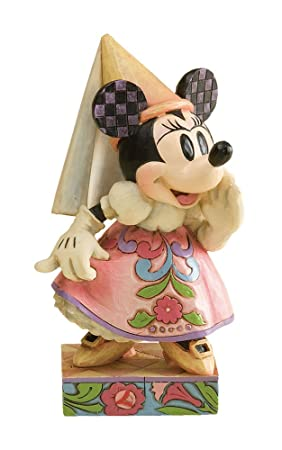 Enesco Disney Traditions by Jim Shore 4011753 Princess Minnie Mouse Personality Pose Figurine 5-Inch