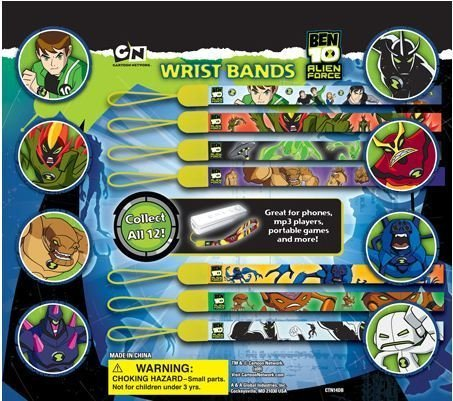 Ben 10 Wristbands Vending Toys Set of 12 Great for Party Favors (Ben 10 Party Supplies)