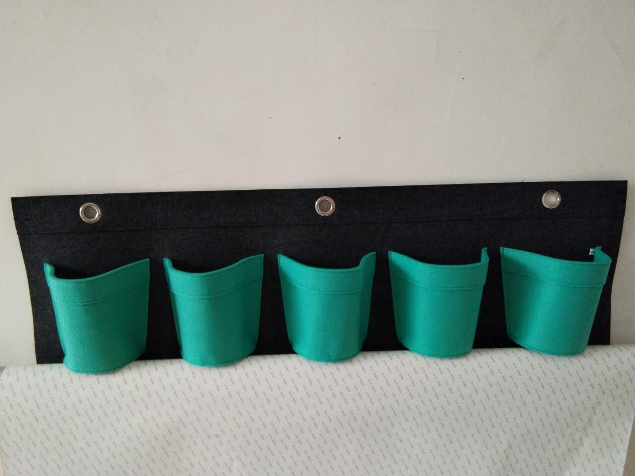 Bolsas de plantaci/ón con 5 bolsillos Lucky Sign/® azul