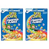 Lucky Charms Frosted Flakes Cereal, Is A Little Taste Of Mouth Watering Excitement. Double Your Pleasure By Getting 2 Boxes