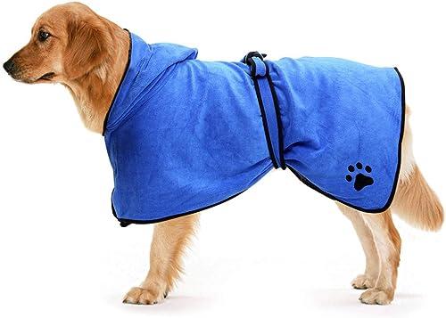 Zellar-Hunde-Bademanteltuch