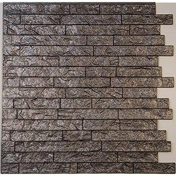 Amazon.com: Ledge Stone 3D Decorative Wall Panels - lightweight ...