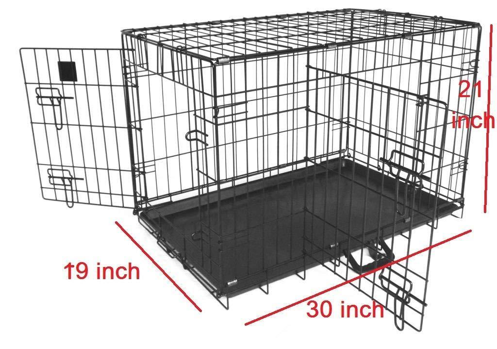 Jaula de Metal genérica para Mascotas, tamaño Mediano, Jaula de ...