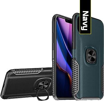 COWEN para Huawei Y9 Prime 2019 Funda,Carcasa con 360 Anillo iman ...