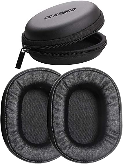 2 Pcs Replacement Ear Pads Foam Cushion for Audio-Technica ATH-M50X Professional