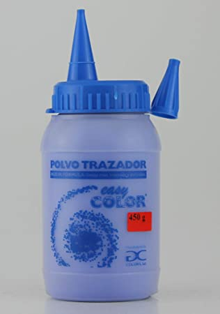 Easy Color Polvo trazador azul frasco 450g. Tiralíneas ...