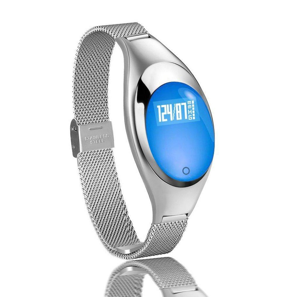 JIAMEIYI Moda Z18 SmartWatch Monitor de Presión Arterial y ...