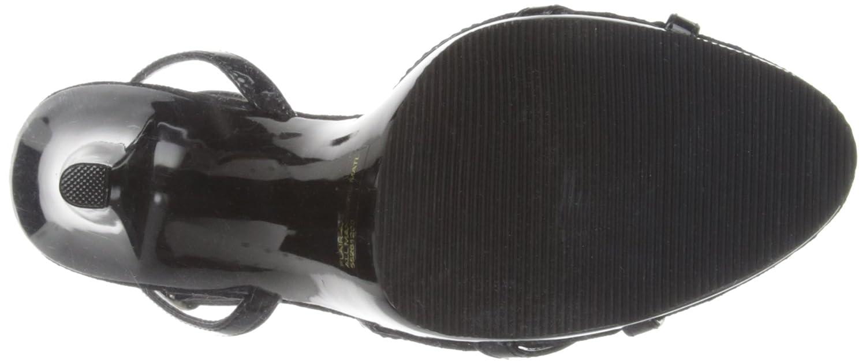 Pleaser FLAIR-436 Damen Sandalen Schwarz (Blk (Blk Schwarz Pat/Blk) 9f288c