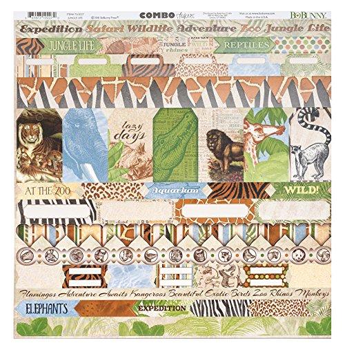 Bo Bunny 7310227 Stickers, Multi
