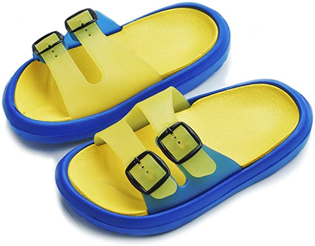 Childrens Shower Pool Slippers Slide Beach Shoes Sandal Girls Boys Cute Bathroom Slipper