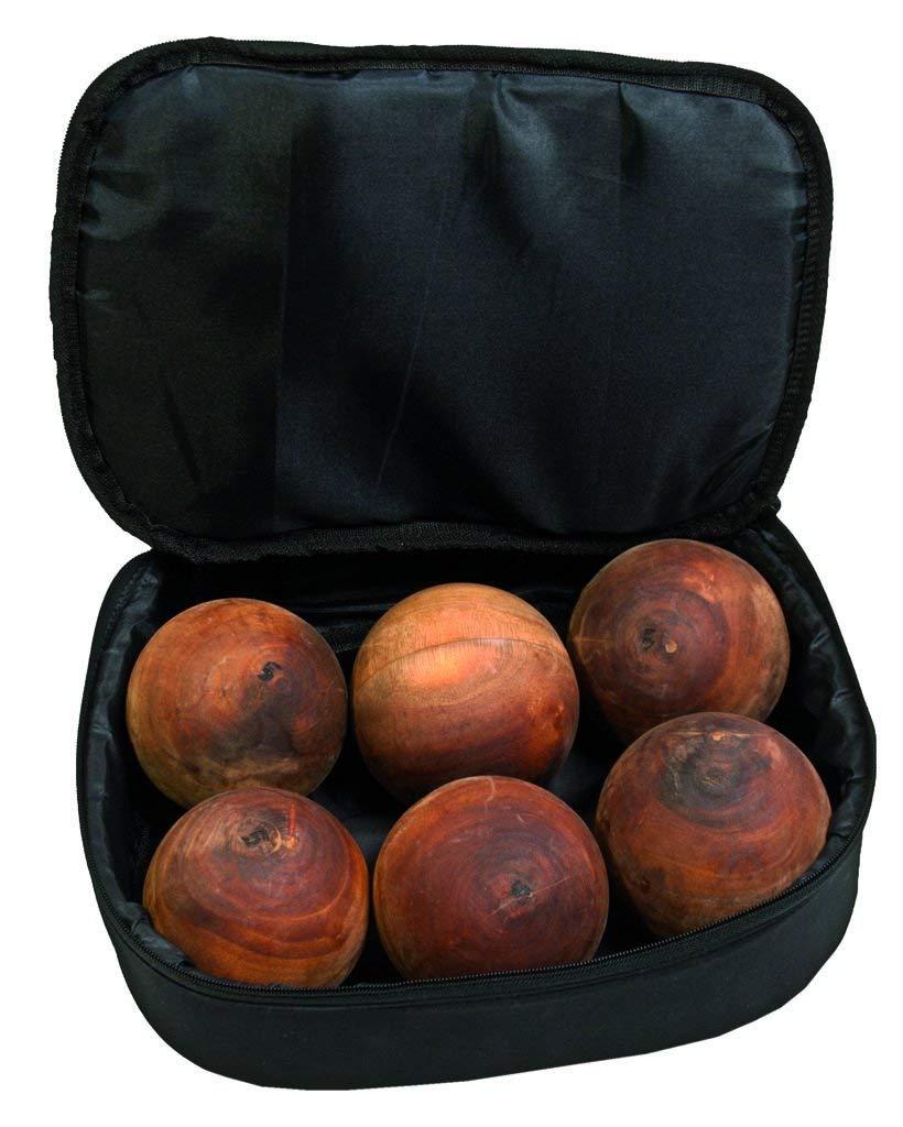 Ball shaker Mahagony wood-set double