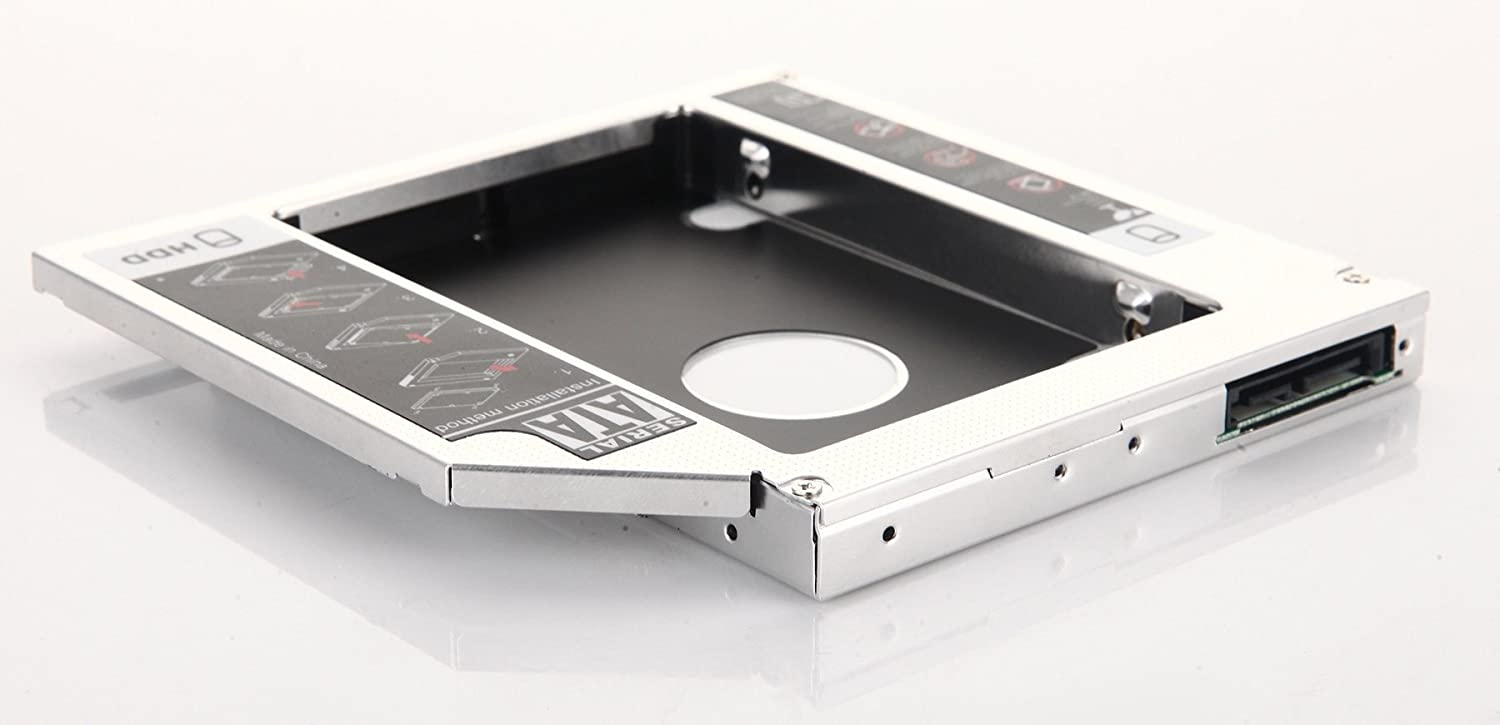 DY-tech 2nd Hard Drive HDD SSD Caddy for Toshiba Satellite C650 C670 C660-22V