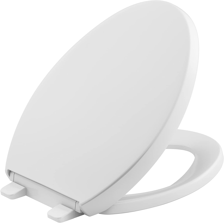 Best Toilet Seat-Best Quiet Close: KOHLER K 4008 Quiet Close Toilet Seat