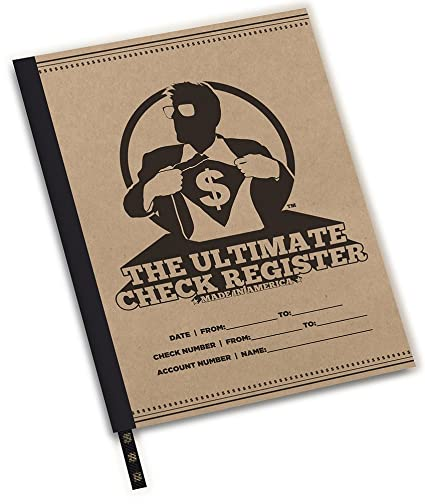 amazon com 8 1 2x11 large check register oversized check book