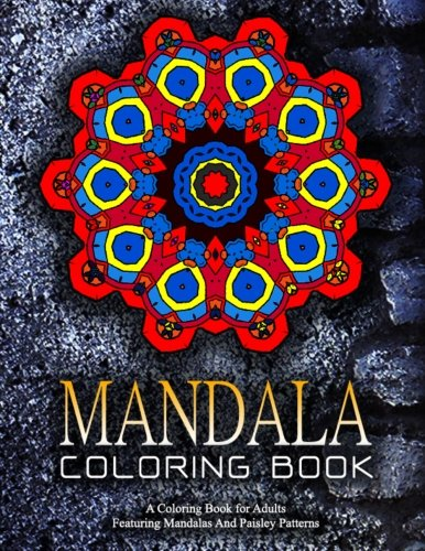 MANDALA COLORING BOOK - Vol.17: Adult Coloring Books Best Sellers For Women (Volume 17)