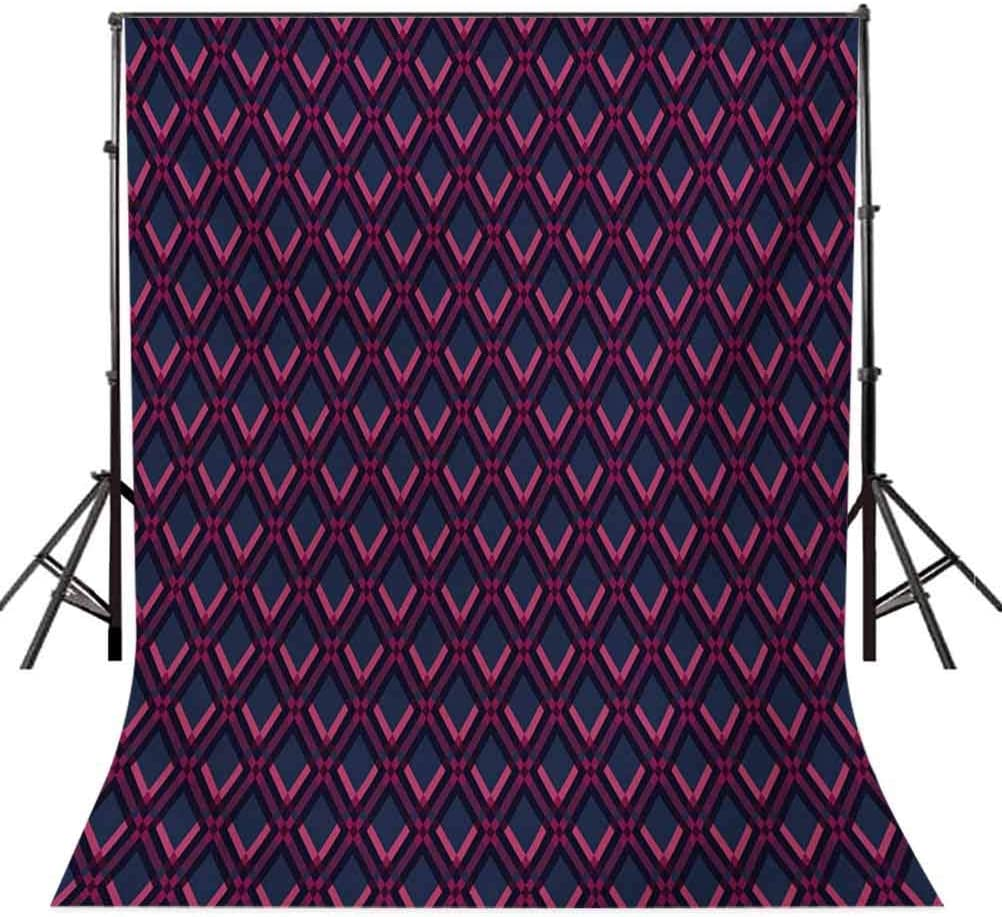 Geometric 10x15 FT Backdrop Photographers,Vibrant Digital Featured Diamond Symmetric Hexagon Contemporary Print Background for Child Baby Shower Photo Vinyl Studio Prop Photobooth Photoshoot