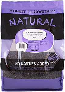 Honest to Goodness Black Turtle Beans, 5kg