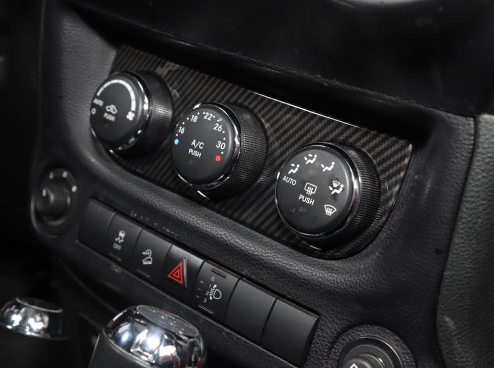 KUJOOY ABS Dark Blue Cowl Body Armor Cover Decor Trim for Jeep Wrangler 2007-2016