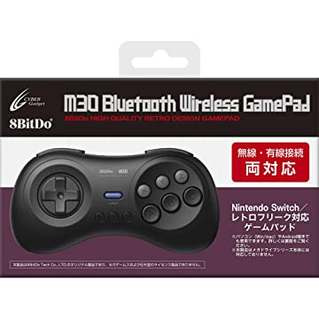 Amazon | 8BitDo M30 Bluetooth Wireless GamePad 【SWITCH(無線・有線)用コントローラー】 - Switch | 周辺機器・アクセサリ