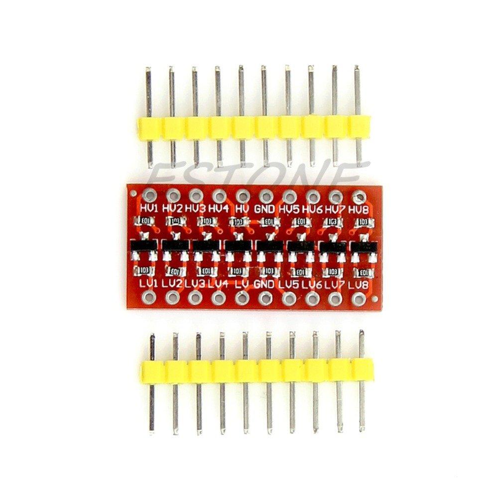 POYING 10pcs/lot 8 Channel I2C IIC Logic Level Converter Module Bi-Directional for Arduino