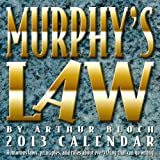 Murphy's Law 2013 Day-to-Day Calendar, Arthur Bloch, 1449419151