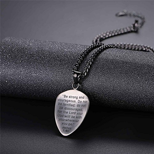Shield of faith pendant chain 22 inch stainless steel joshua 19 shield of faith pendant chain 22 inch stainless steel joshua 19 cross amulet necklace aloadofball Images