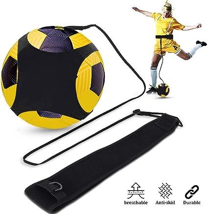 Football Self Training Kick Practice Trainer Aid Equipment Waist Belt Returner