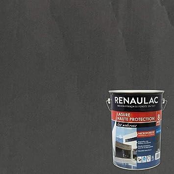 Renaulac Peinture Lasure Gris Anthracite Garantie 8 Ans