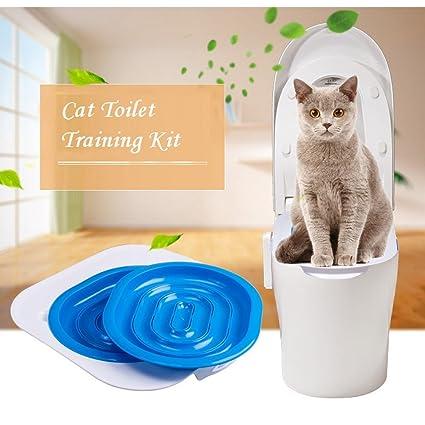 HQ ABS de formación para inodoro de gato mascota entrenamiento cachorro arenero para gatos mascota suministros