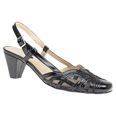 9f7d0f02ef99 Pavers Mid-Heel Closed Toe Sandal 125 023  Amazon.co.uk  Shoes   Bags