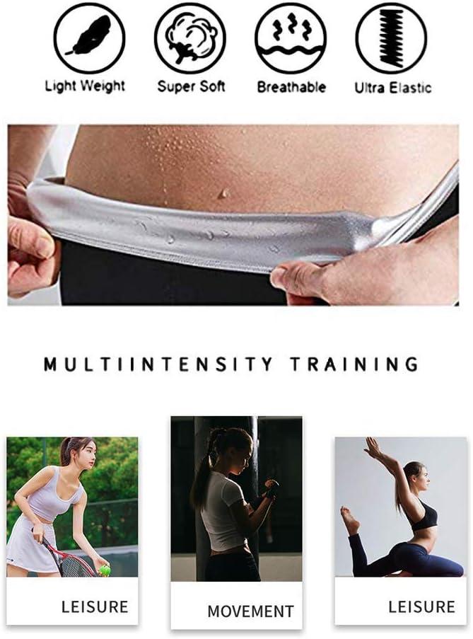 Moonssy Legging Anti Cellulite Legging Femmes Taille Haute avec Nanotechnologie pour Tonifier des Cuisses et Obtenir Un Ventre Plat Pendant Yoga//Jogging//Pilates//Fitness Pantalon de Sudation