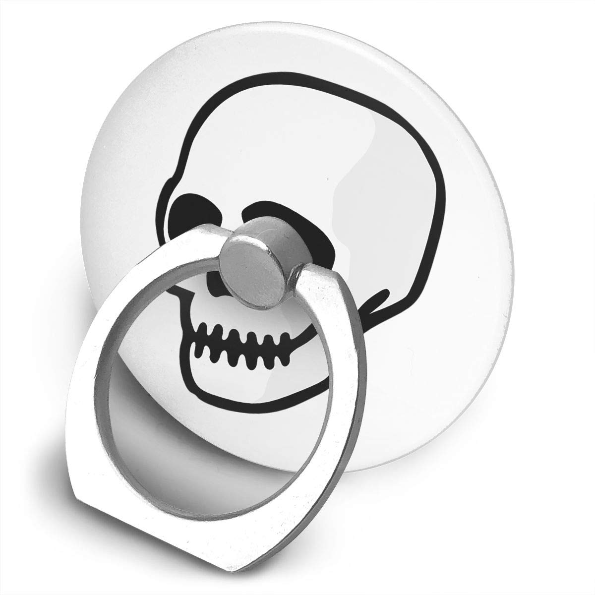 Yuotry 360 Degree Rotating Ring Stand Grip Mounts Sugar Skull Universal Phone Ring Bracket Holder Smartphone Ring Stent