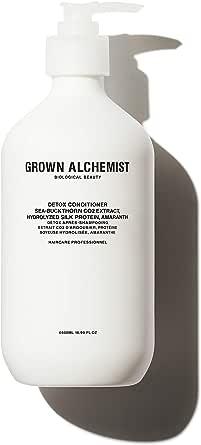 Grown Alchemist Detox Conditioner: Sea-Buckthorn CO2 Extract, Hydrolyzed Silk Protein, Amaranth, 500ml