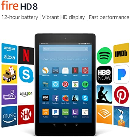 Previous Generation (7th) Fire HD 8 - Amazon Official Site ...