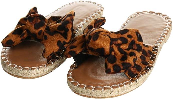 YYW Women Flat Sandals Slides Slip On