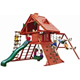 Sun Palace Playset w Turbo Tire Swing & Extreme Wave Slide