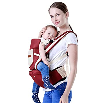 Amazon Com Baby Hip Seat Carrier Front And Back 360 All Positions