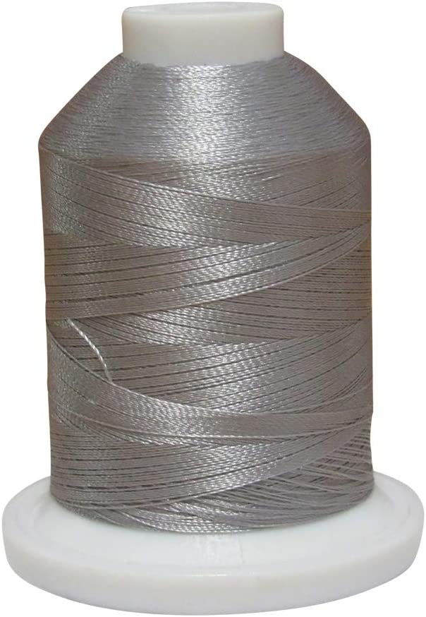 1000 Meter Spool ETP005 Silver Simplicity Pro Embroidery Thread by Brother