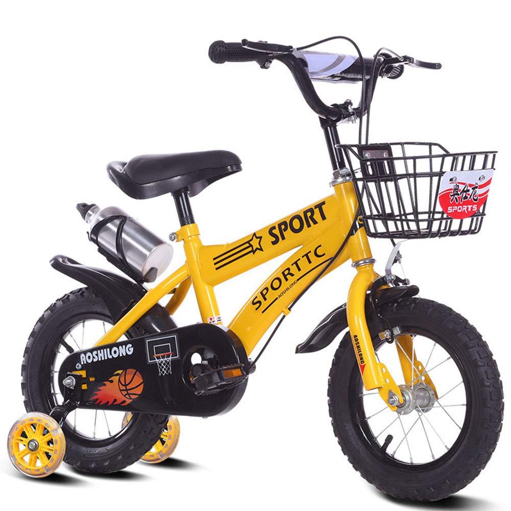 amarillo 1-1 12  14  16  18  Bicicleta Infantil niño y niña A Partir de 3 años   V-Brake y Freno de contrapedal   Modelo BMX 2019 12IN