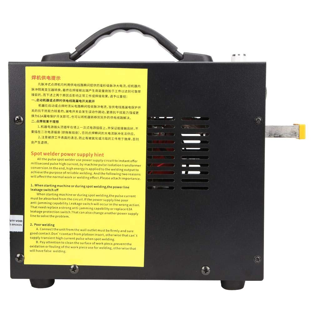 US Plug Battery Spot Welder Lithium Battery Welding Machine,Pulse Spot Welder Fast Welding Pen for 18650 Battery Welding Machine