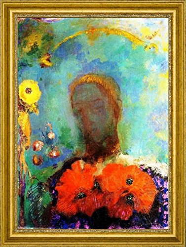 Amazon.com: Girl with Poppies by Odilon Redon - 16\