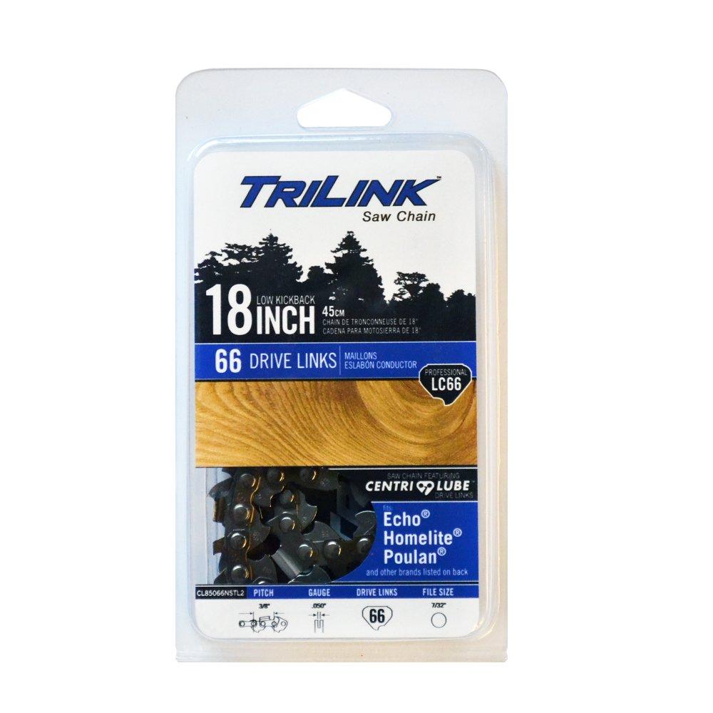 Trilink Saw Chain CL85066TL 18 Chainsaw Chisel Chain LC66