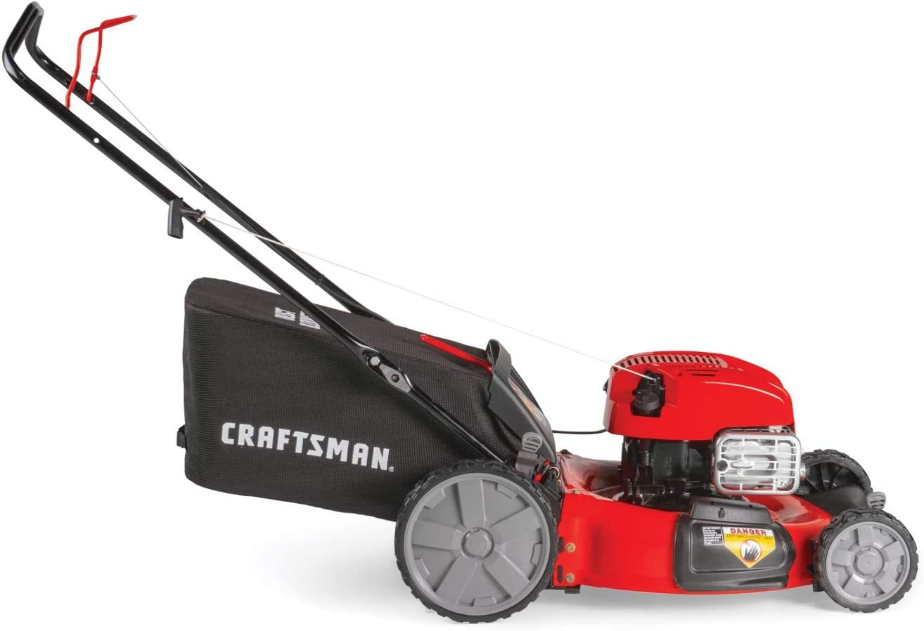 Craftsman M125 163cc Gas Powered Push Lawn Mower Review