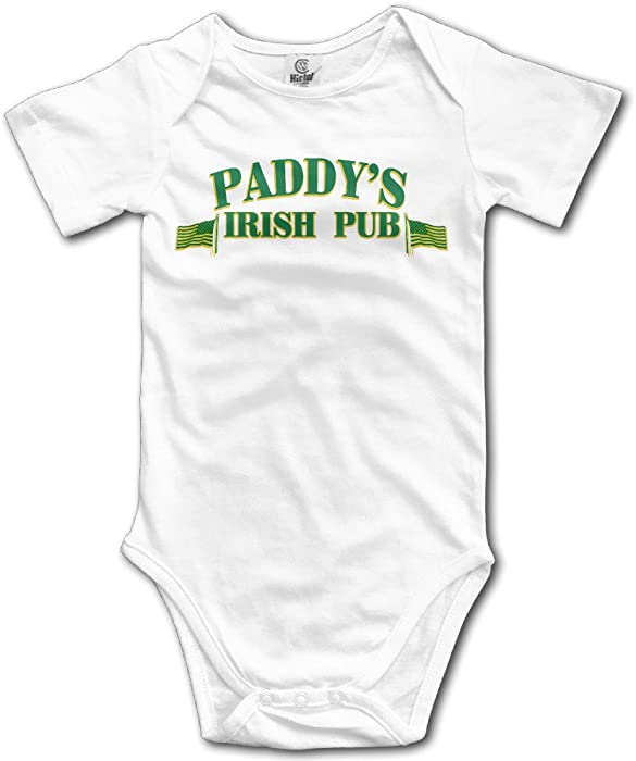 bf9be307e Amazon.com: Paddy's Pub Green Baby Jumpsuit Bodysuit In 4 Sizes ...