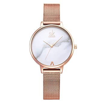 d960505ef SK Women Watch Fashion Analog Ladies Watches on Sale Mesh Female Watches  for Women (K0039