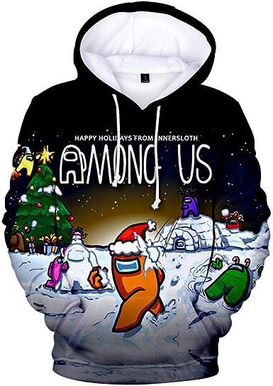 MNWS Youth Hoodie Among Us Boys and Girls Print Sweatshirt