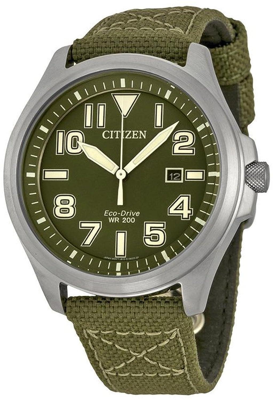 [シチズン]CITIZEN 腕時計 ECO-DRIVE MILITARY エコドライブ ミリタリー AW1410-32X メンズ [並行輸入品] B01N9SIOR9