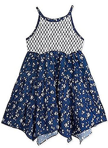 Rare Editions Toddler / Little Girl's Handkerchief Dress (6)
