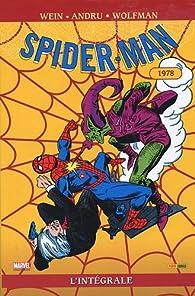 Spider-Man l'Intégrale, Tome 17 : 1978 par Geneviève Coulomb