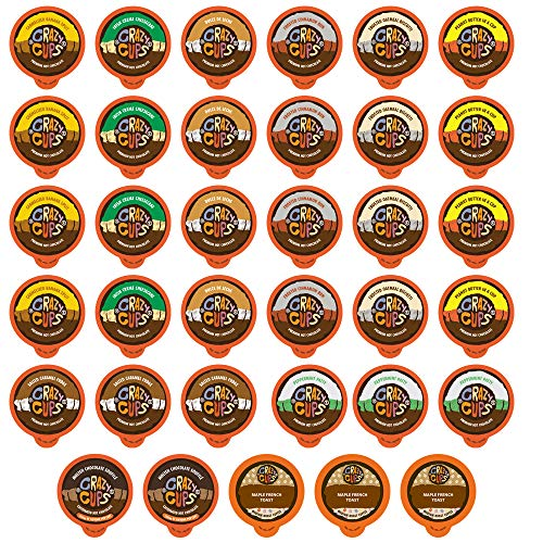 (Crazy Cups Premium Hot Chocolate Sampler K-cup Brewers, 35 Count)